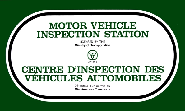 MTO Inspection Certificate